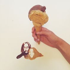 Ice Cream Sketches John Lennon & Yoko Ono