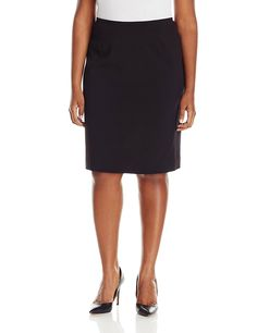Calvin Klein Women's Plus-Size Solid Straight-Fit Suit Skirt *** Be sure to check out this awesome product.
