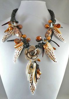 Wild Thing - Jewelry creation by Madalynne Homme