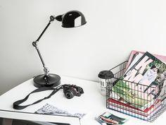 Desk Lamps For Beautiful Task Lighting – Beautiful Lamps Folding Desk, Beliani, Office Inspiration, Office Furniture Collections, Work Lamp, Desk, Metal Desk Lamps, Desk Light, Desk Lamp