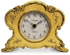 Heal's | Newgate Veronique Mantle Clock Antique Gold > Mantle Clocks