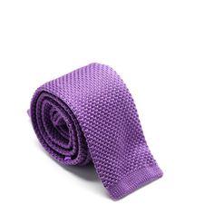 Purple Knit Tie from King Kravate - The Neckwear Of Kings