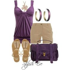 Perfect summer outfit. C:
