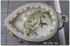 Victorian Porcelain Toilet   Photo by R. Wilde