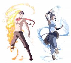 Korra and Mako i know not disney. FANTASY IS DISNEY TO ME!