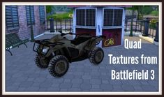 Quad Textures from Battlefield 3 at Dinha Gamer • Sims 4 Updates