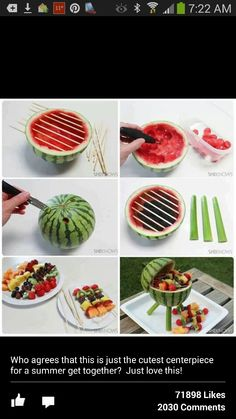 Great summer picnic idea!