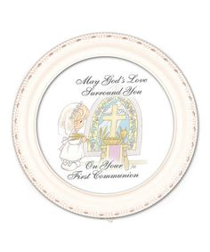 Loving this White 'First Communion' Music Box on #zulily! #zulilyfinds