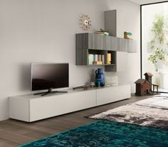 Ideas for Wonhwand TV furniture folding wall units rotating front open container trade