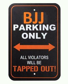 BJJ parking only