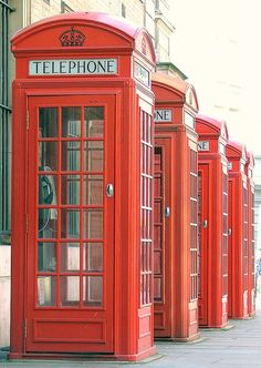 Red Public Phone Boxes - Covent Garden, London, England - Thursday September Thirteenth 2007, via Flickr.@ http://www.flickr.com/photos/kevenlaw/1377698792/