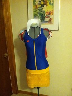 Snow White Under Armour Running Costume Perfect for RunDisney events