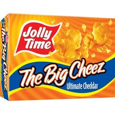 Jolly Time The Big Cheez Popcorn: 4 grams trans fat per serving (2 tbsp cup unpopped popcorn)
