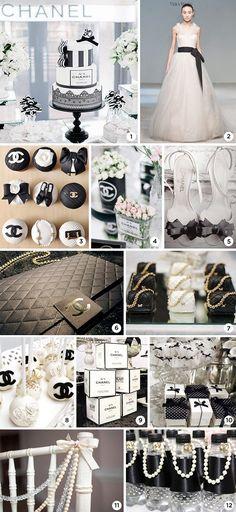 A Chanel é uma das marcas mais icônicas de todos os tempos, por isso não é surpresa que seja inspiração para decoraçãode festas de 15 anos. Além declássi