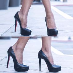 Bianca heels by Christian Louboutin  #shoes #losangeles #heels #christianlouboutin