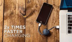 ApkDriver - Latest Android Apps,Games and News: Bold Knot is a smart charging solution for users o. Latest Android, Android Apps, Iphone Charger, Iphone Cases, Yanko Design, Design Design, New Inventions, Modern Gentleman, Present Gift