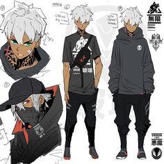 Fantasy Character Design, Character Drawing, Character Design Inspiration, Character Concept, Black Anime Characters, Fantasy Characters, Mode Cyberpunk, Japon Illustration, Black Artwork