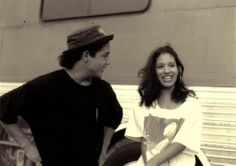 """Chris Perez & Selena Quintanilla-Perez<3<3<3    """"love is a symbol of eternity. It wipes out all sense of time, destroying all memory of a beginning and all fear of an end"""" ~ unknown"""