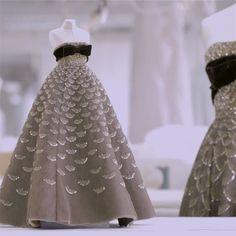 Le Petit Théâtre Dior   Mexique dress   Haute Couture 1951