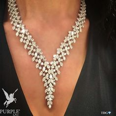 Another perfect addition to your style! Discover this diamond necklace by @istanboulli_gioielli via @the_diamonds_girl