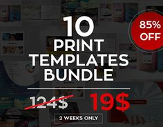 """Check out new work on my @Behance portfolio: """"Multipurpose Print Templates Bundle"""" http://on.be.net/1PIGdQ9"""