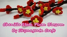 pipe cleaner flowers - YouTube