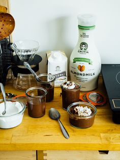 How to make vegan chocolate pudding