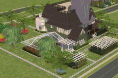 Practical Magic House Floor Plan 1