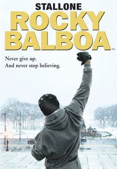 Rocky Balboa. Picked this up cheap at a car boot sale -what a fabulous film, as good as the first one in the series.