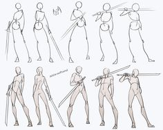 comic art Swordsman Poses Pack - my Patreon for ALL sketches and resources! Drawing reference resource practice human body anatomy tutorial male androgyne sword swordsman poses standing how to draw Drawing Body Poses, Body Reference Drawing, Drawing Reference Poses, Anatomy Reference, Sword Reference, Male Pose Reference, Human Body Drawing, Human Anatomy Drawing, Human Reference