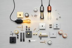 the buster + punch 'buster bulb' enhances LED technology to provide a more energy-efficient lighting alternative than incandescent and filament lights