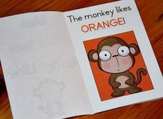 Monkey theme - tot pack