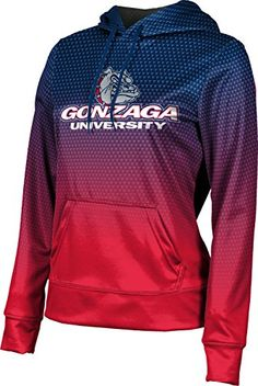 Distressed ProSphere Gonzaga University Boys Hoodie Sweatshirt