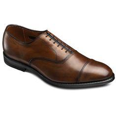 Allen Edmonds Park Avenue Cap-toe Oxfords 5615 Black Custom Calf