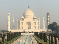 The magnificence of the Taj!