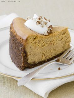 Ultimate Pumpkin Cheesecake #FNMag #ThanksgivingFeast