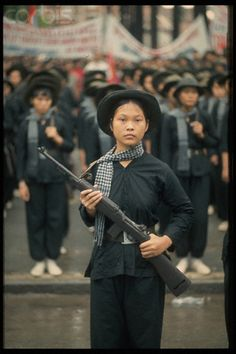 The Fall of Saigon, female Viet Cong Soldiers                                                                                                                                                                                 More