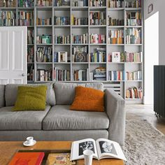 The living room color schemes to give the impression of more colorful living. Find pretty living room color scheme ideas that speak your personality. Living Room Color Schemes, Living Room Colors, Living Room Grey, Home And Living, Living Room Designs, Living Room Decor, Colour Schemes, Living Rooms, Small Living