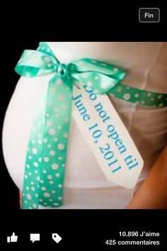Pregnancy announce