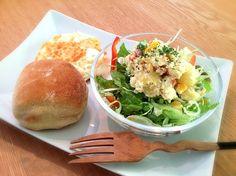 レンジで作ったポテトサラダで朝ごはん - 20件のもぐもぐ - ポテトサラダ by reo4911