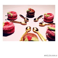 handmade polymer clay macarons charms !! FOR MORE INFO PLEASE EMAIL ME !!!