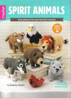 He encontrado este interesante anuncio de Etsy en https://www.etsy.com/es/listing/276834640/animales-espiritu-libro-crochet-patrones