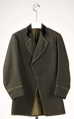 Coat ca.  1860
