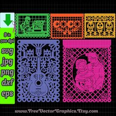 Coco Disney Svg Files 2018 Cricut Designs Dia De Los Muertos Vector Party Birthday