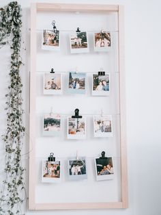 Family Tree Wall Decor, Room Wall Decor, Ikea Foto, Birthday Gift Picture, Polaroid Wall, Living Room Decor Inspiration, Diy House Projects, Diy Home Crafts, Diy Wall