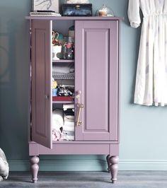 IKEA ISALA cabinet would make great storage in hallways