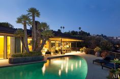 Steven Meisel's residence | Beverly Hills, CA | remodeled by Marmol Radziner + Assoc