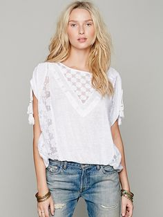 Free People FP New Romantics South of the Equator Top at Free People Clothing Boutique