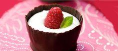 Receta de Flan de chocolate blanco casero sin thermomix, ni huevo, muy rápido y fácil - Flan de chocolate blanco con royal o cuajada - Flan sin horno
