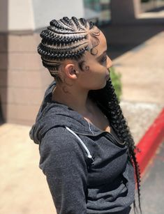 85 Box Braids Hairstyles for Black Women - Hairstyles Trends Box Braids Hairstyles, Lemonade Braids Hairstyles, My Hairstyle, Protective Hairstyles, Protective Styles, Protective Braids, Hairstyles Men, Curly Hair Styles, Natural Hair Styles
